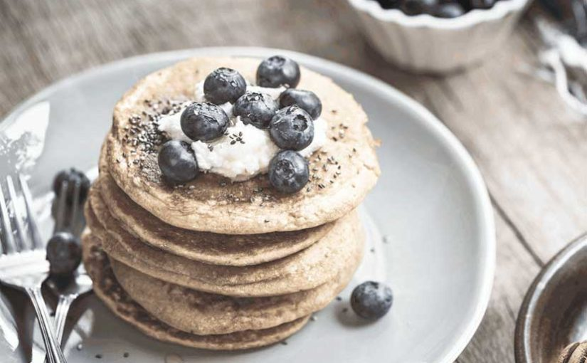 Lower Carb Sweet Pancakes – it´s all about the Topping