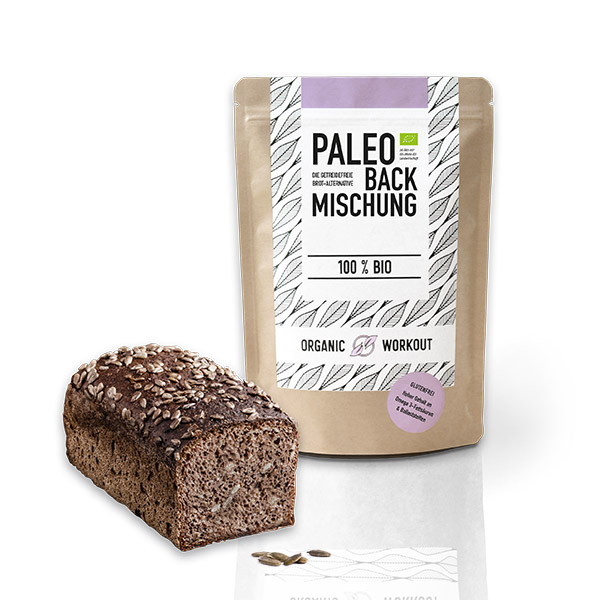 Organic Workout Paleo Brotbackmischung
